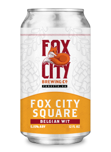fox city square beer can